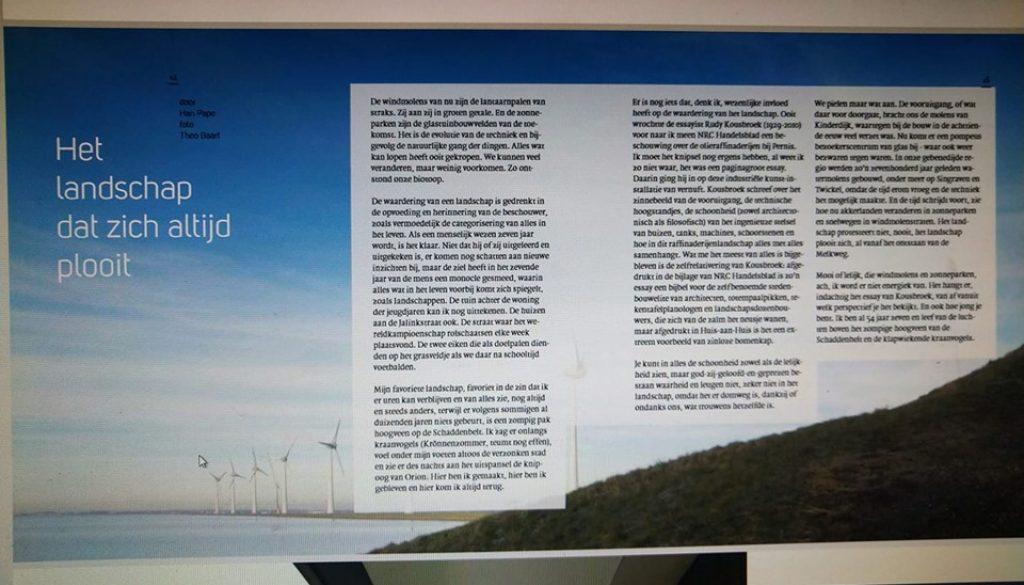 Oosting Magazine het Landschap