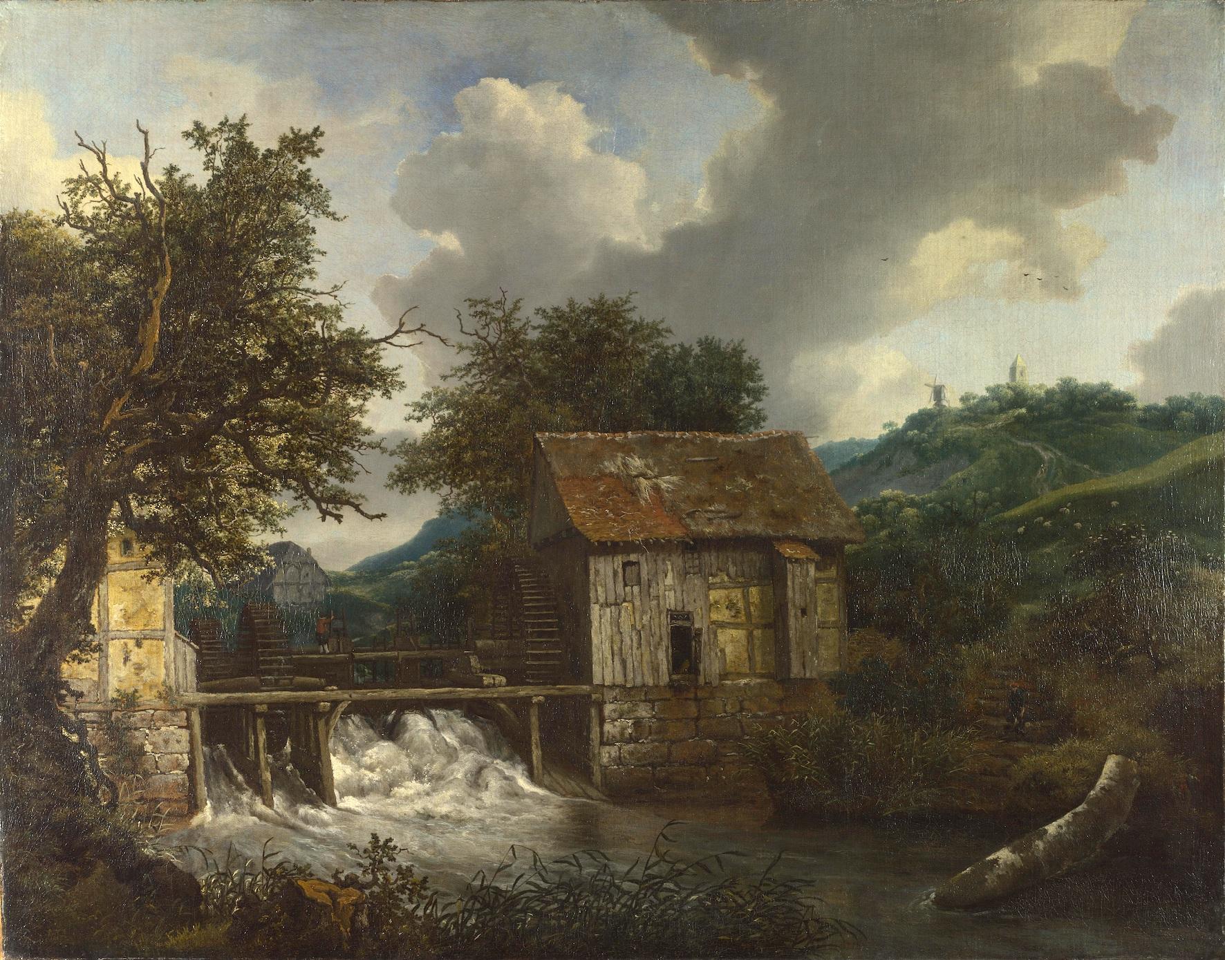 Jacob_Isaacksz._van_Ruisdael_-_Two_Watermills_and_an_Open_Sluice_near_Singraven